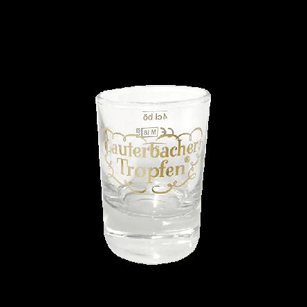 Glas Lauterbacher Tropfen 0,04 l
